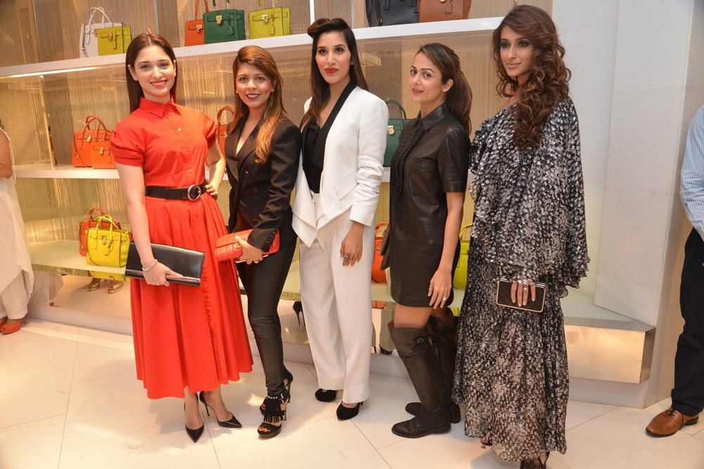 Tamannaah, Tanaaz Bhatia, Sophie Choudry, Amrita Arora and Ileana D'Cruz