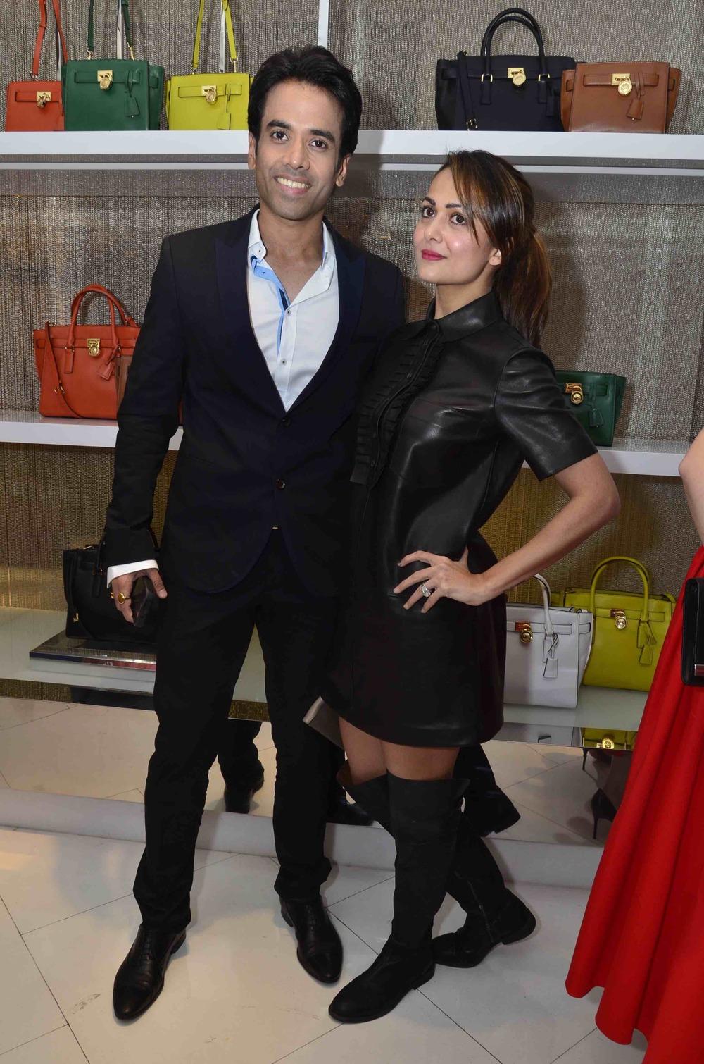 Tushaar Kapoor and Amrita Arora