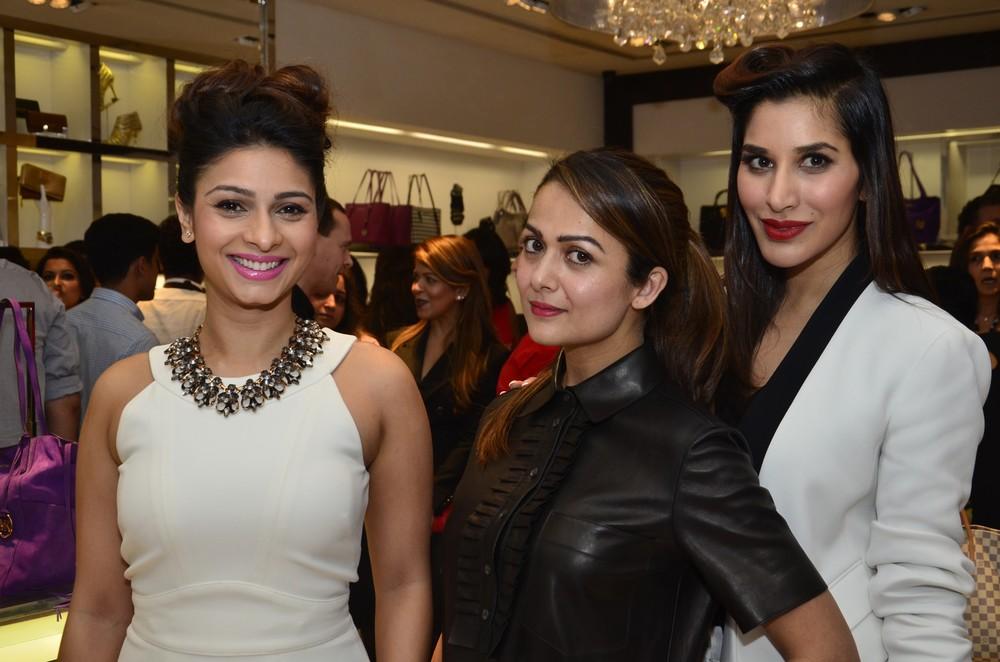 Tanisha Mukherjee, Amrita Arora and Sophie Choudhry