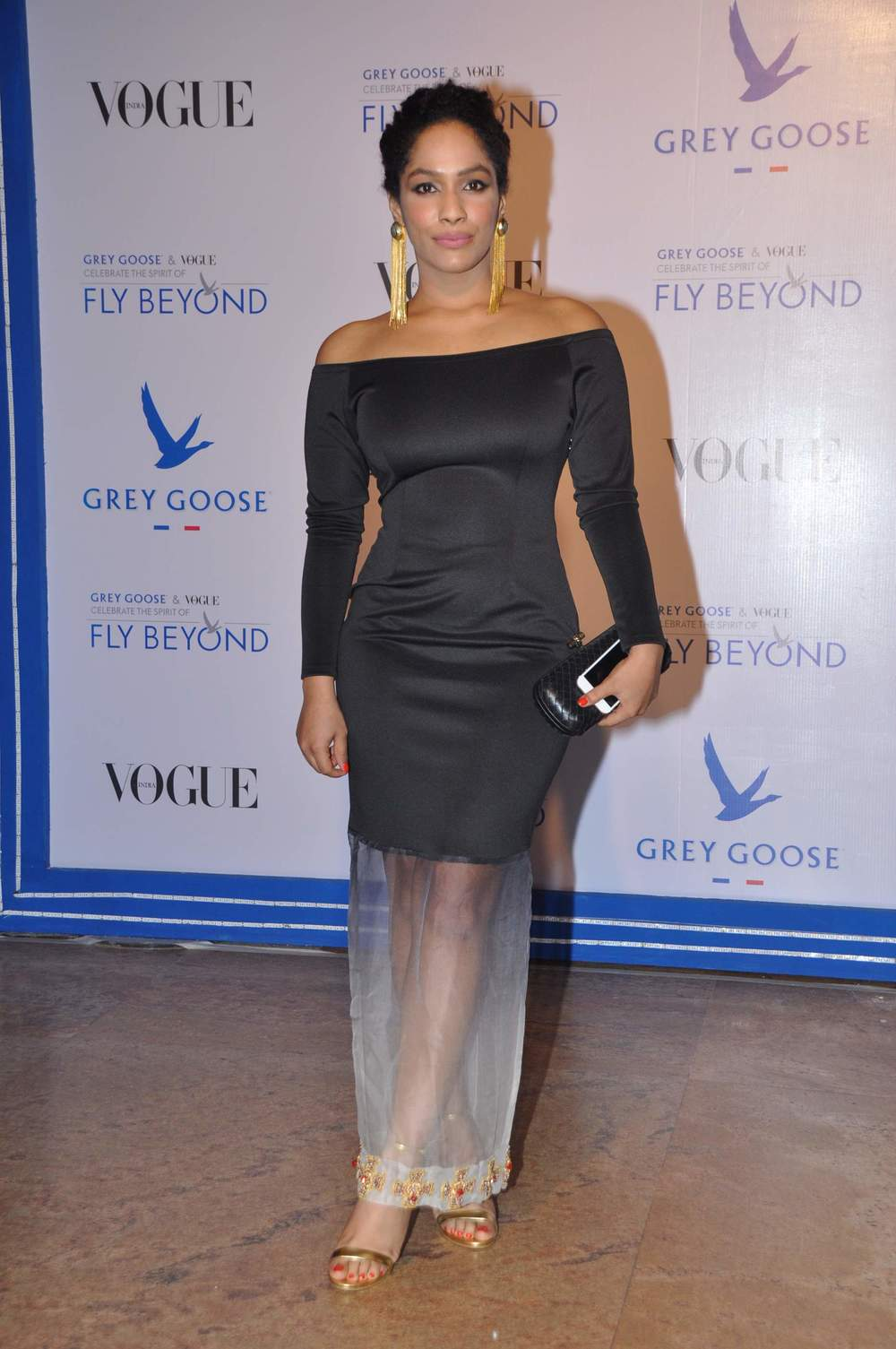 Masaba Gupta wearing her own creation