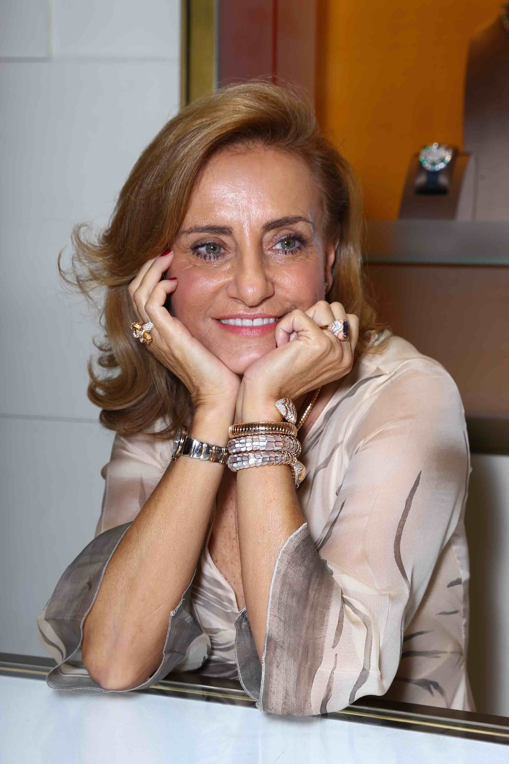 Lucia Silvestri (Creative Director, Bulgari group)