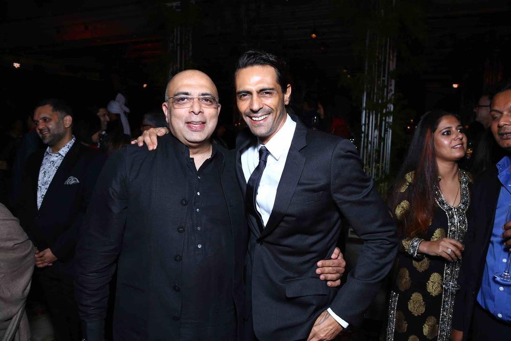 Tarun Tahiliani and Arjun Rampal