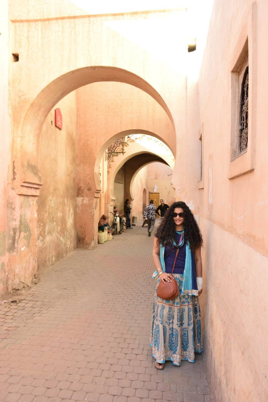 Skirt & Stole: Label by Ritu Kumar, T-shirt: Ralph Lauren, Sling: Bottega Veneta, Bangles: Hermes, Neckpiece: Amrapali, Sunglasses: Dior