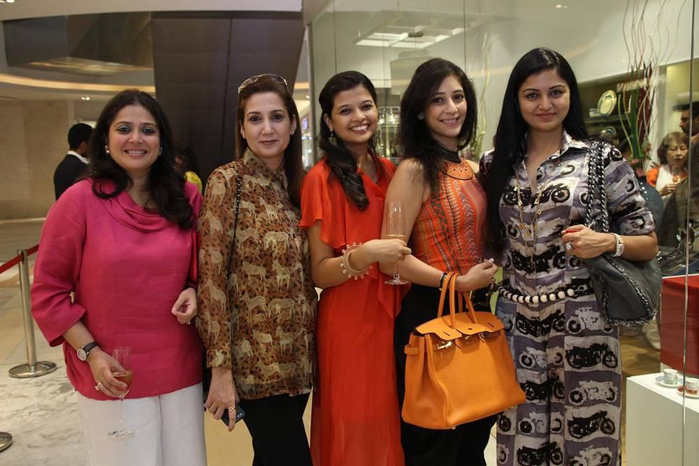 Abhilasha Sethia, Enu Bala, Manjri Agarwal, Geetanjali Khemka &Ritu Agarwal