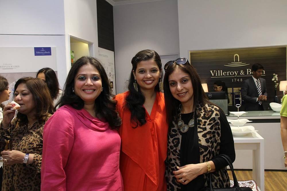 Abhilasha Sethia, Manjri Agarwal &Ritu George