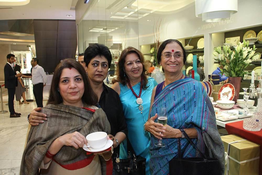 Preeti Patel, Oindrilla Dutt, Rita Bhimani &Shyamlu Dudeja