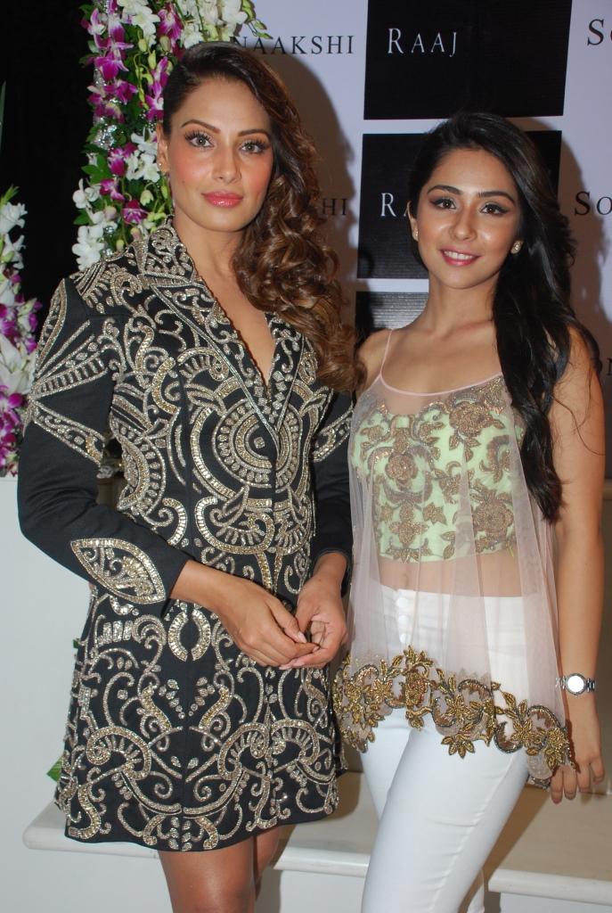 Bipasha Basu and Sonaakshi Raaj