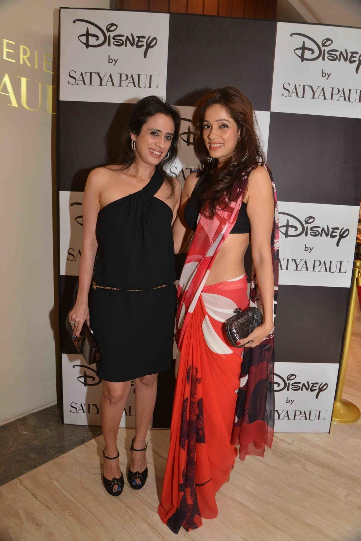Dilshad Khambatta & Vidya Malwade in Disney Monopop by Satya Paul