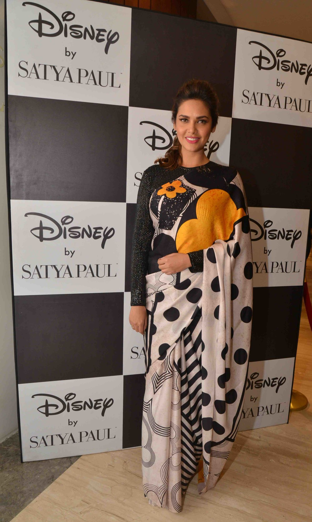 Esha Gupta in Disney Monopop by Satya Paul