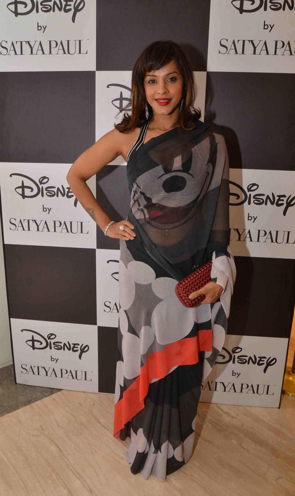 Manasi Scott in Disney Monopop by Satya Paul