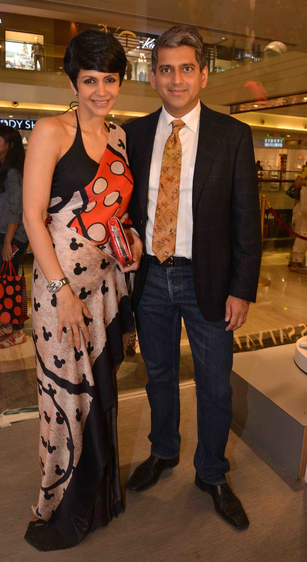 Mandira Bedi & Sanjay Kapoor