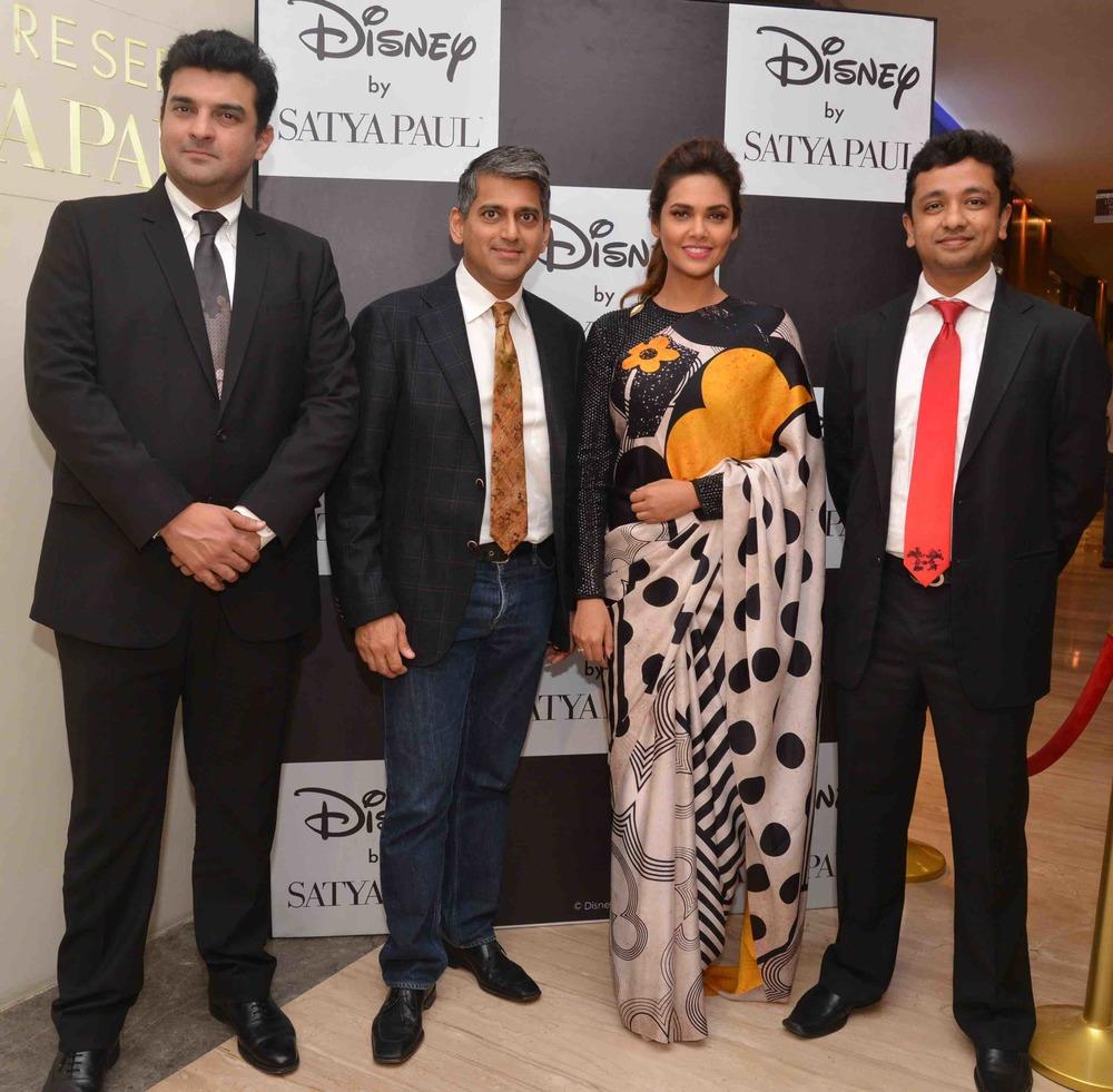 Siddharth Roy Kapur, Sanjay Kapoor, Esha Gupta & Abhishek Maheshwari
