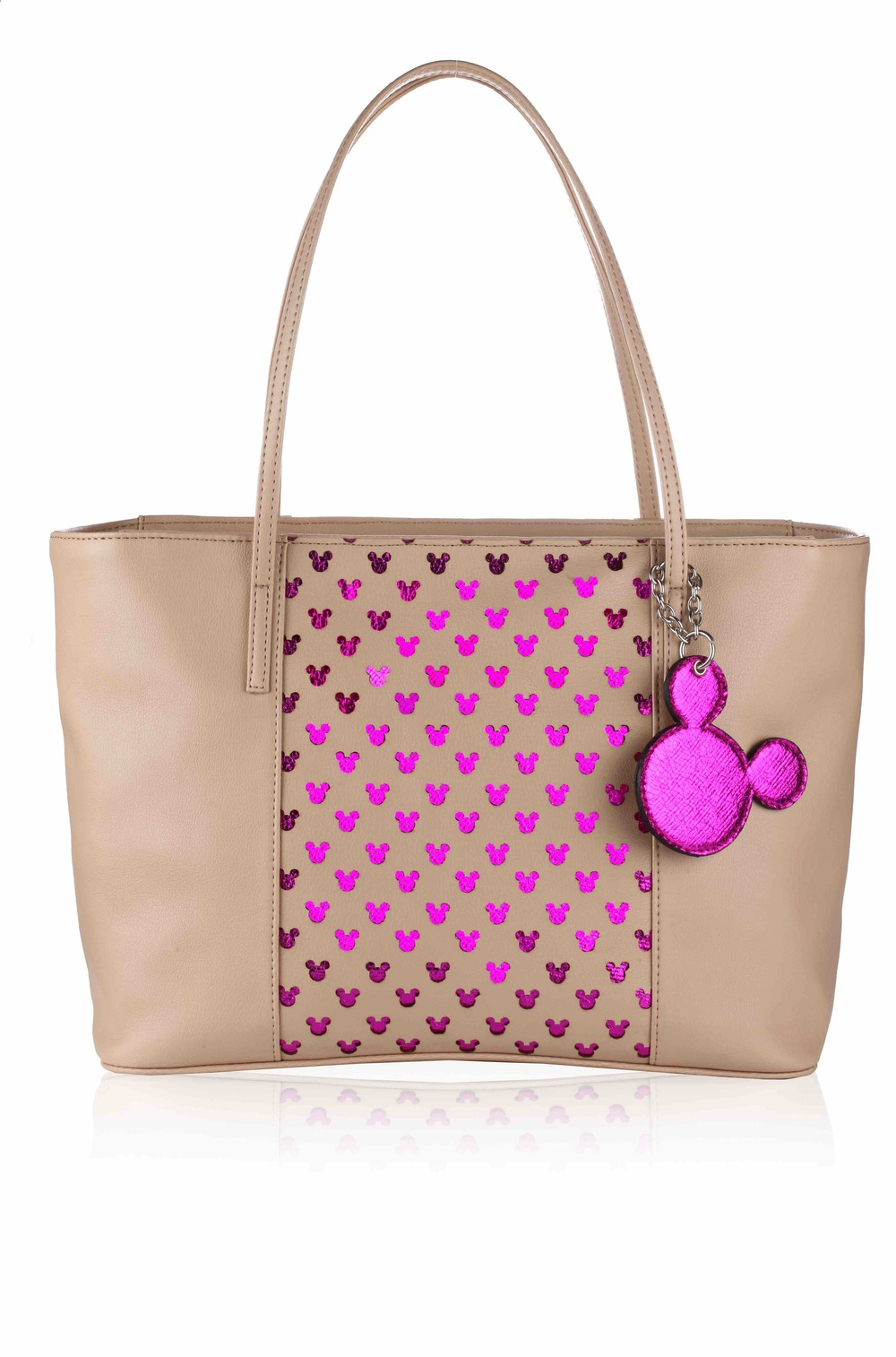 Disney Monopop by Satya Paul Iconic Mickey Laser Cut Shopper