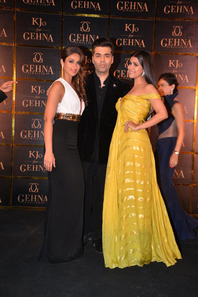 Ileana D'cruz, Karan Johar and Nimrat Kaur