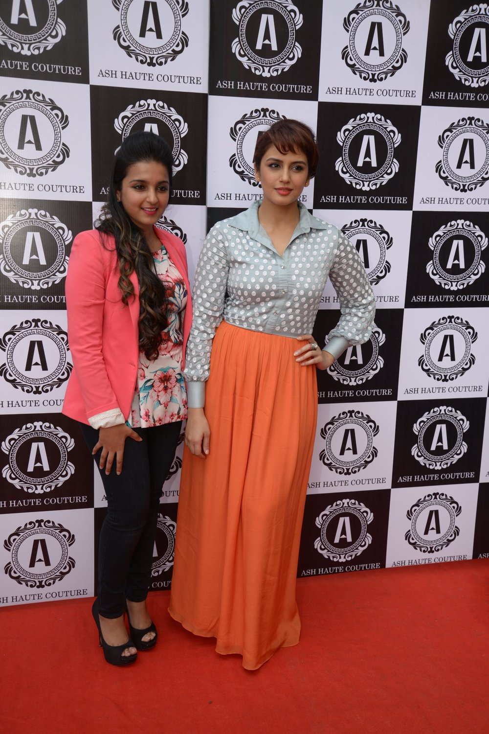 Ashna Gupta kalra with Huma Quereshi