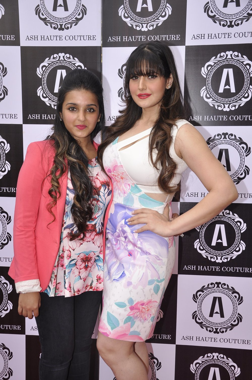 Ashna Gupta Kalra with Zarine Khan