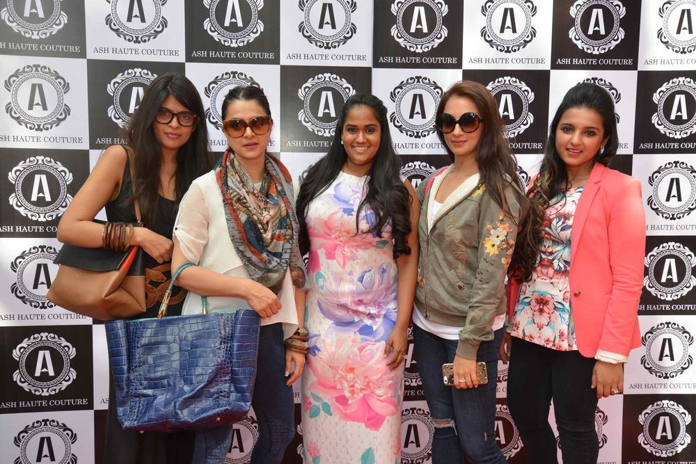 Laila Motwane, Tanya Deol, Arpita Khan, Seema Khan & Ashna Gupta Kalra