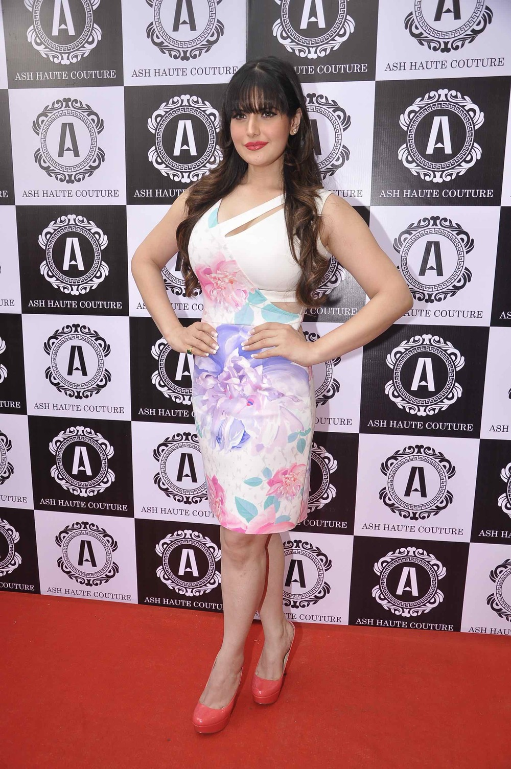 Zarine Khan in Ashna Gupta Ash Haute couture