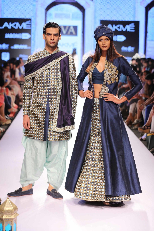 SVA - Sonam & Paras Modi - Lakme Fashion Week Summer/Resort 2015