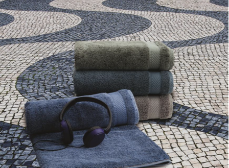 SPACES Home & Beyond Spring/Summer 2015 Youthopia Denim Towels Collection