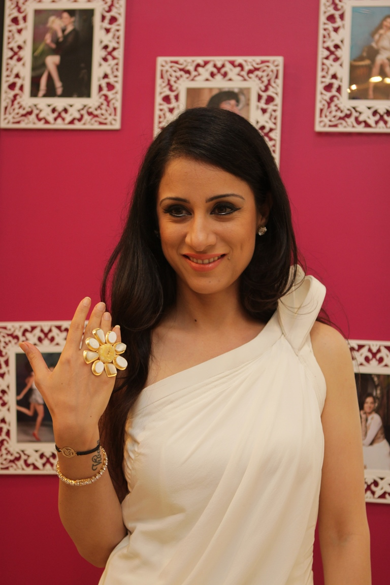 Rouble Nagi tries a statement ring by Mitaali Vohra.JPG