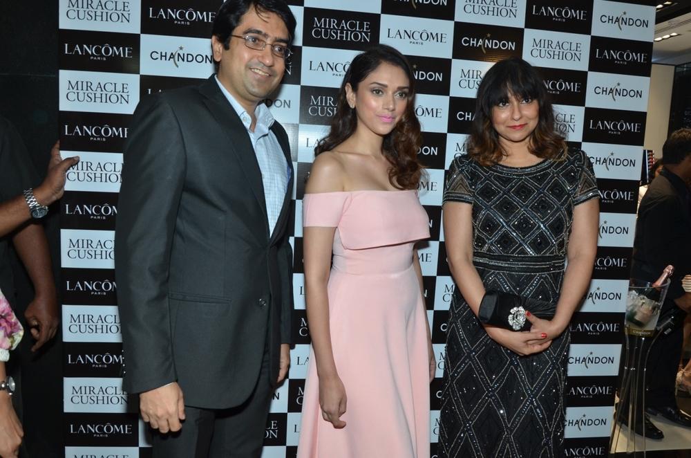 Sandeep Kriplani, Aditi Rao Hydari and Smira Bakshi