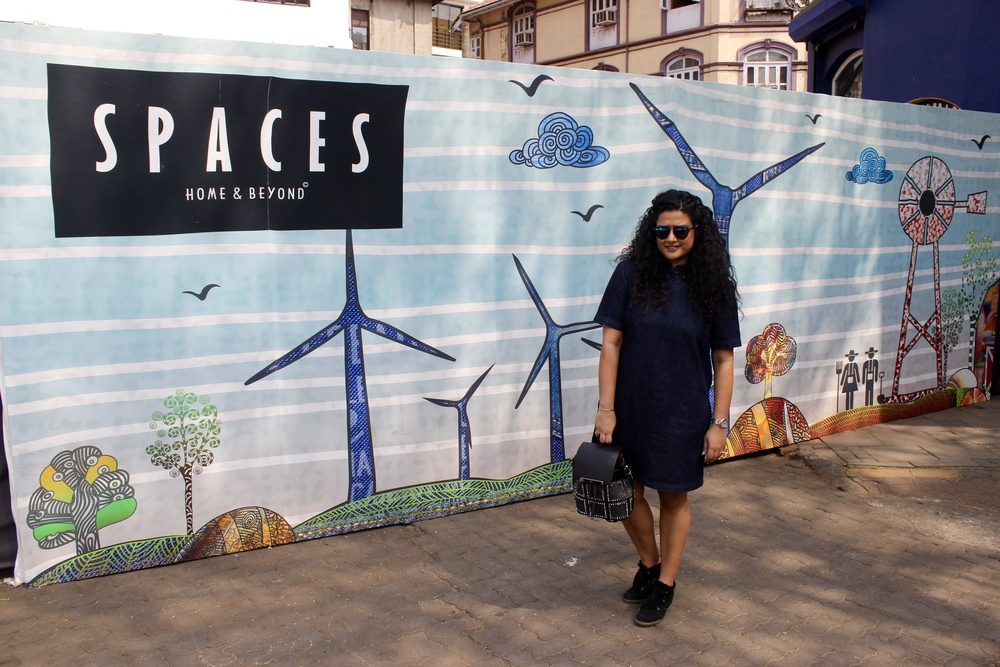 SPACES Textile Mural