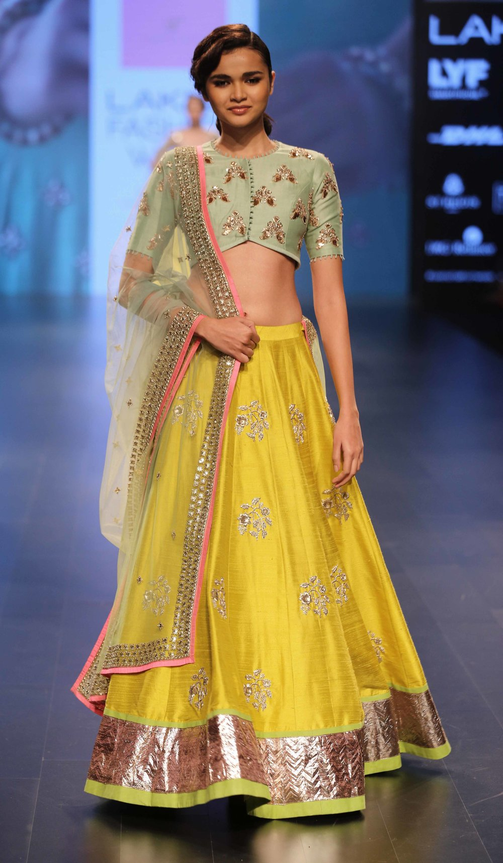 Model walks for Anushree Reddy at LFW WF 2016.jpg