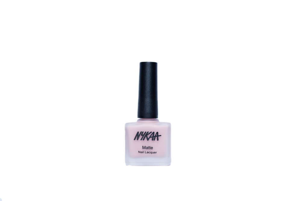 Nykaa Matte Nail Enamel - Pink Meringue