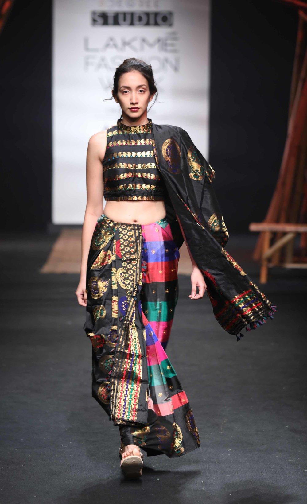 Model walks for Sanjukta Datta at LFW SR 17.jpg