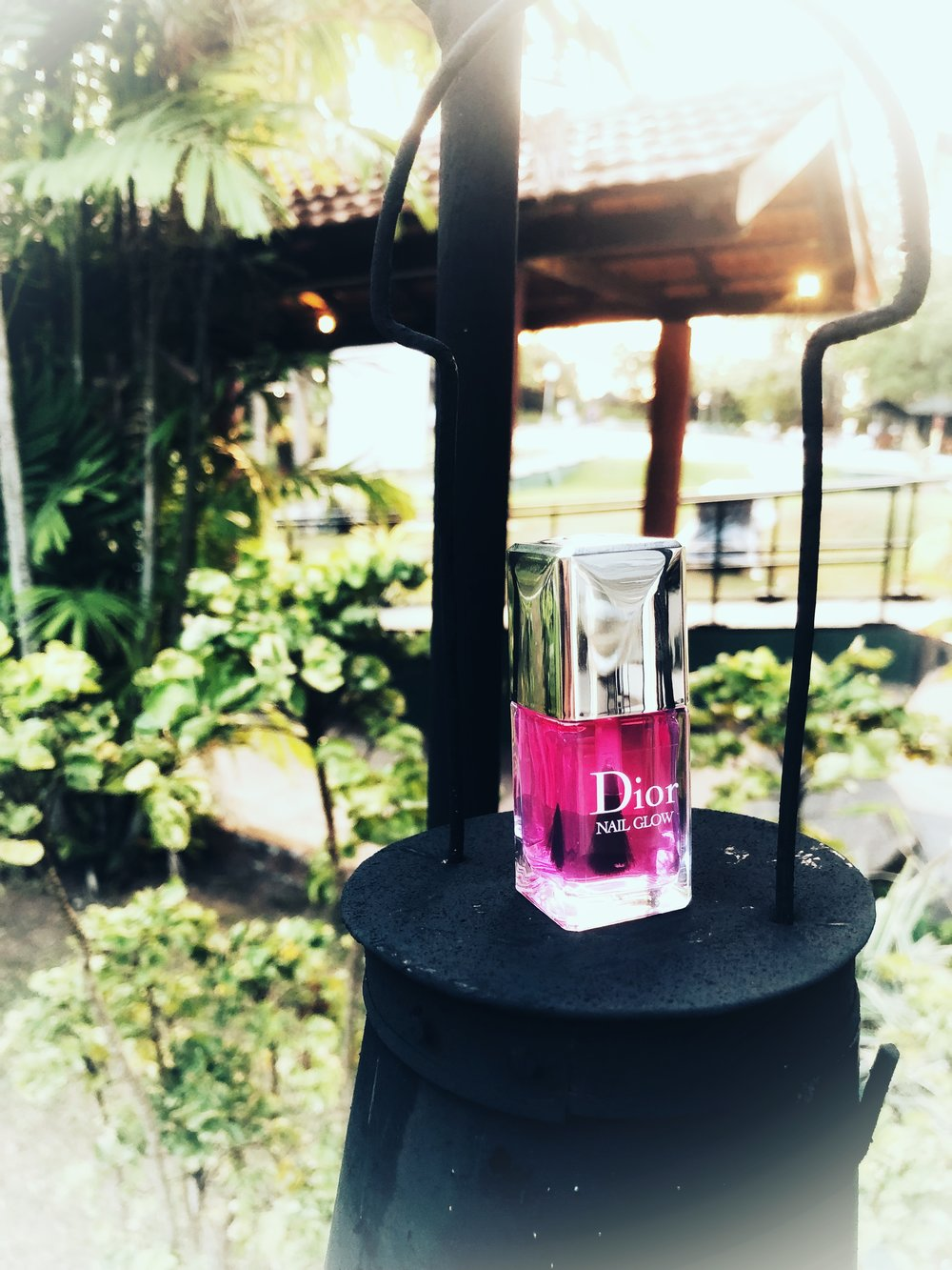 Dior Nail Glow — The Purple Window