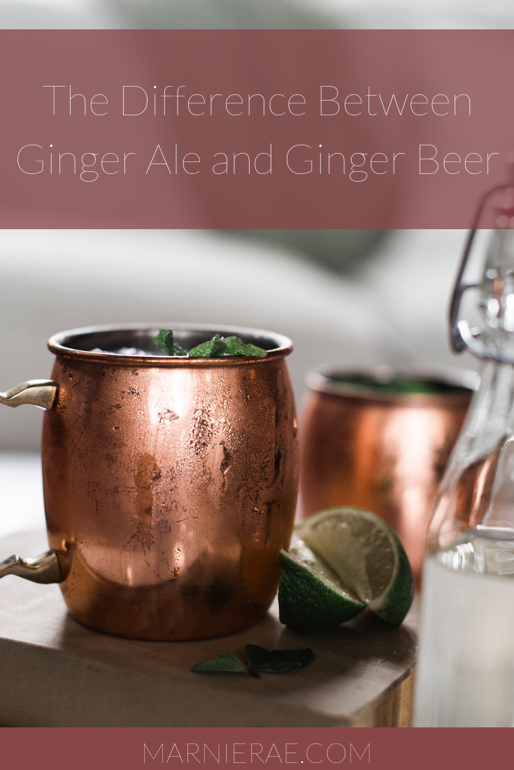 The Difference Between Ginger Ale and Ginger Beer