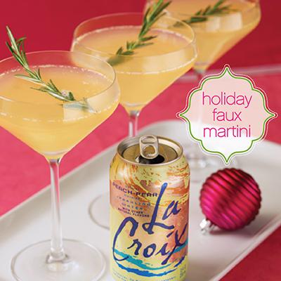 Marnie Rae Holiday Faux Martini
