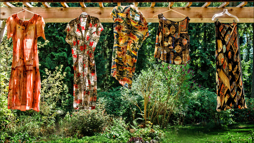 Sun-dried Dresses
