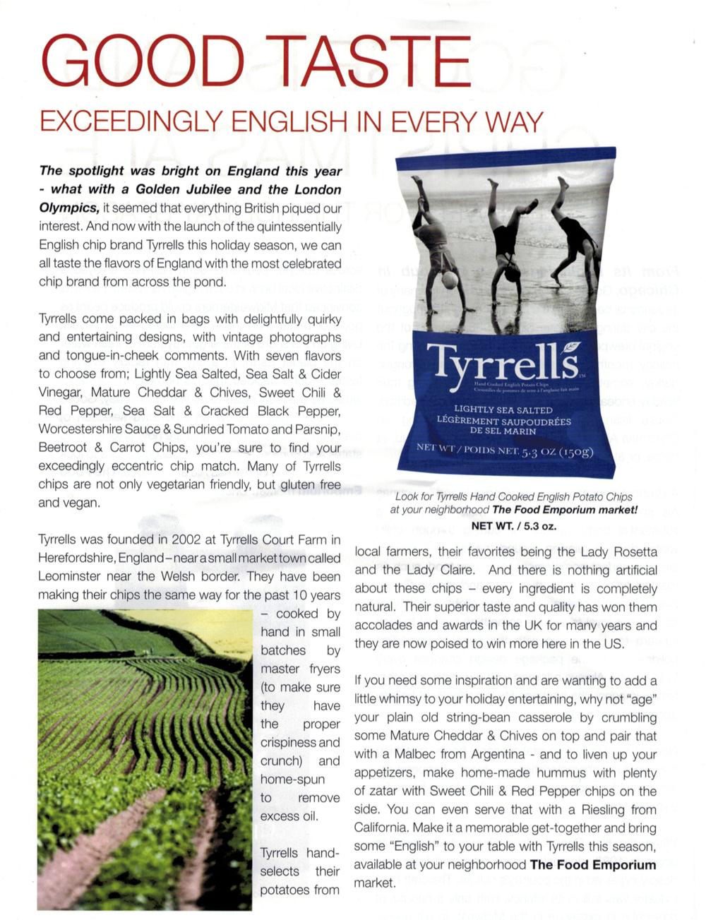 Tyrrells-TASTE Magazine - Editorial - Holiday 2012.jpg