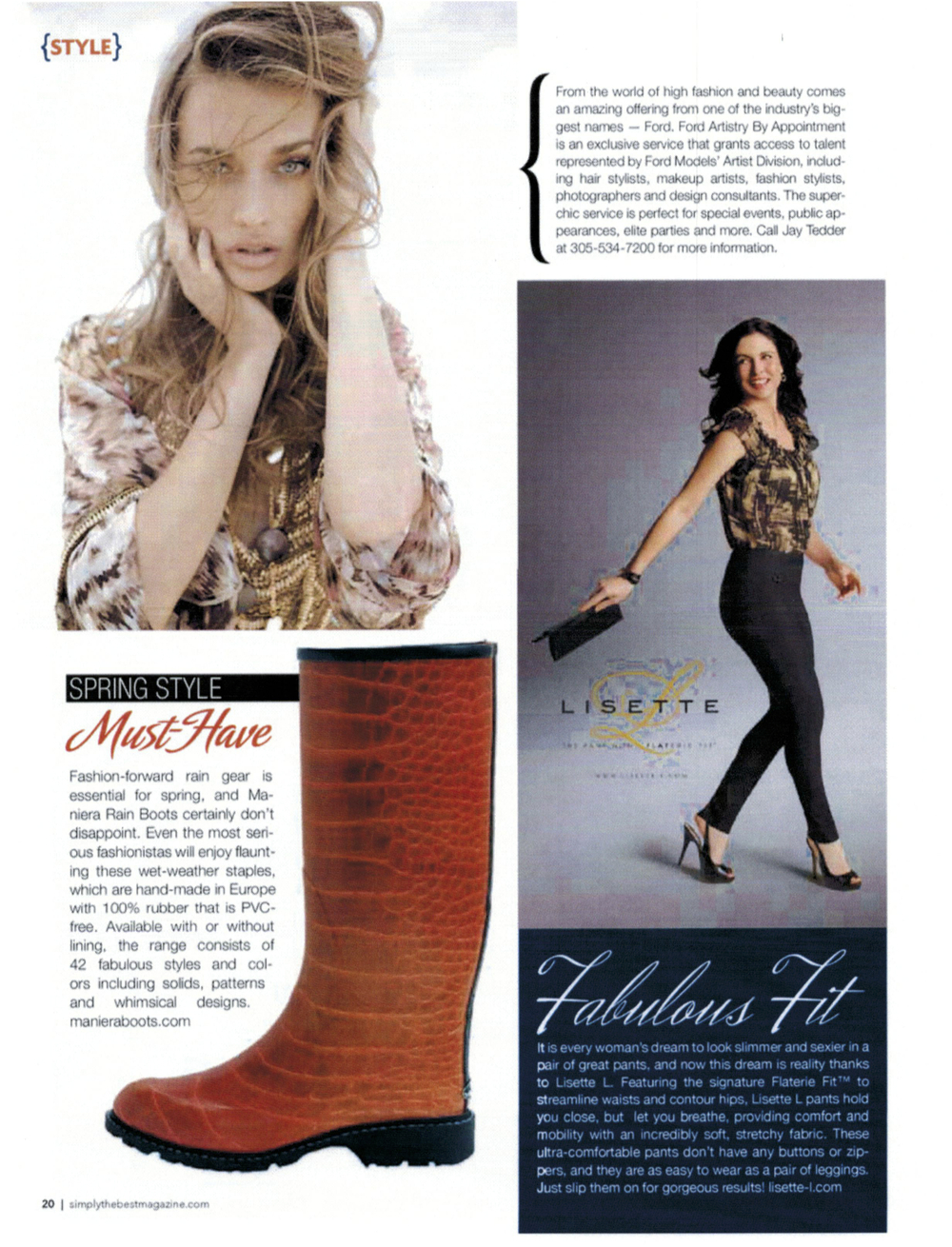Maniera Boots - Simply The Best Magazine - March_April 2012 Issue.jpg