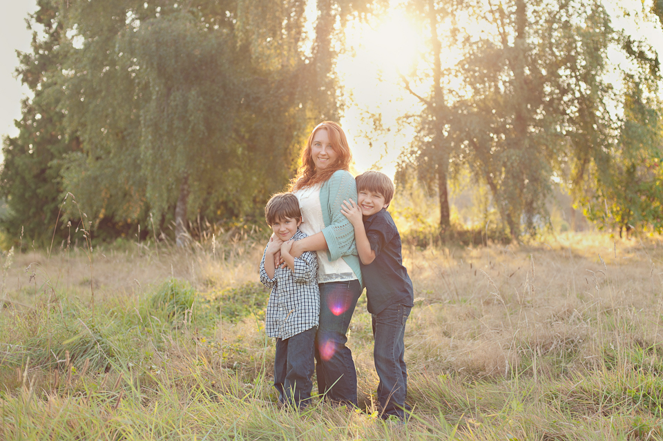 Me and my boys shot by Butterfly Kiss Photography.