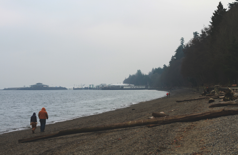Owen Beach, Washington in January 2013 by Jenny Ryan of Amiabelle.