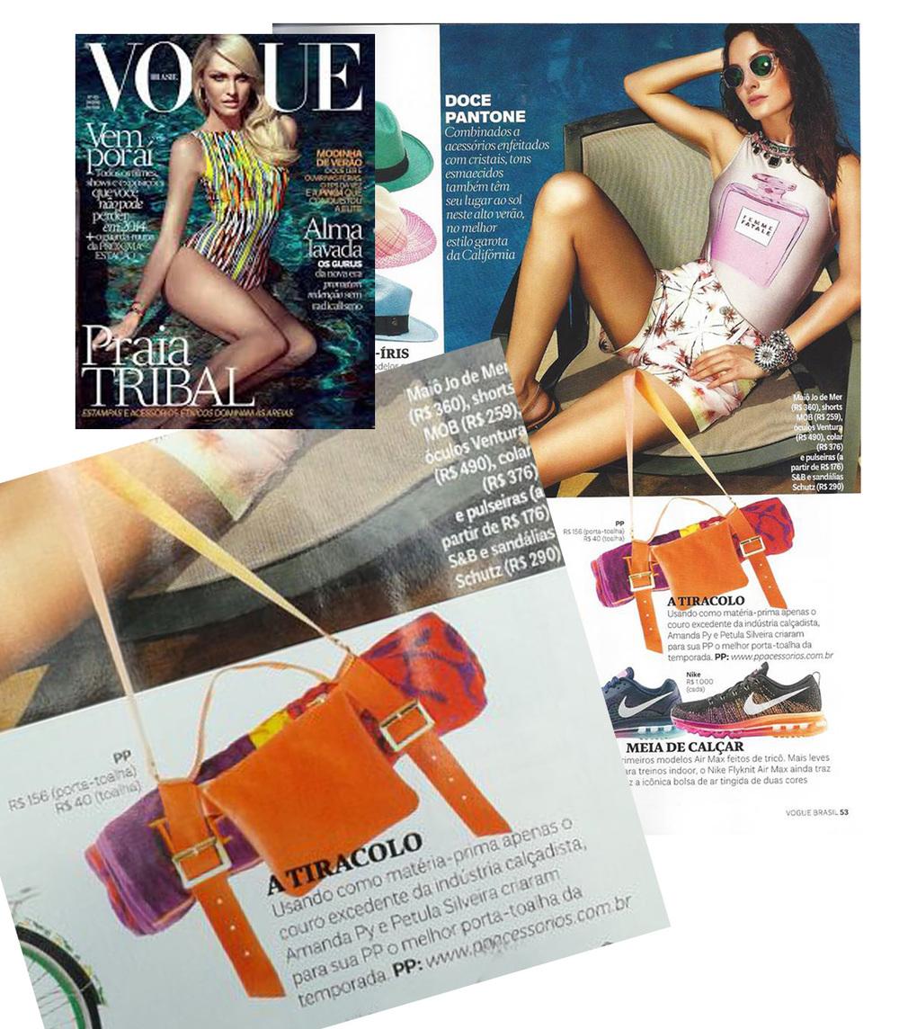 """Lançamento da PP para o verão foi escolhido pela Vogue como """"o melhor porta-toalha da temporada""""."""
