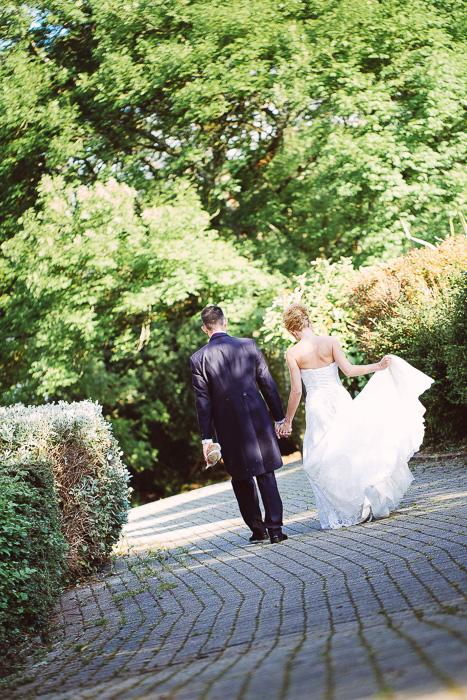 Devon bride and groom at borringdon hall