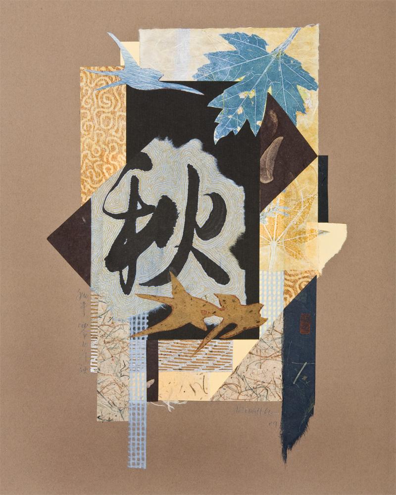 "Autumn Collage   11x17"""