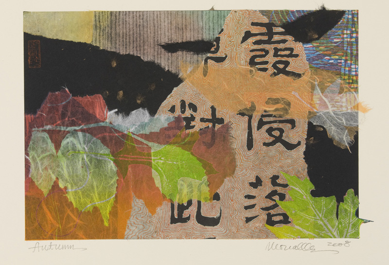 "Autumn Collage   13 9x"""
