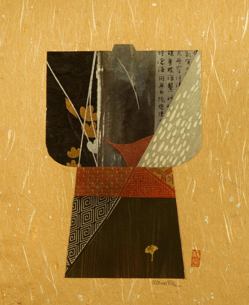 """Kimono I Collage   10x13"""""""