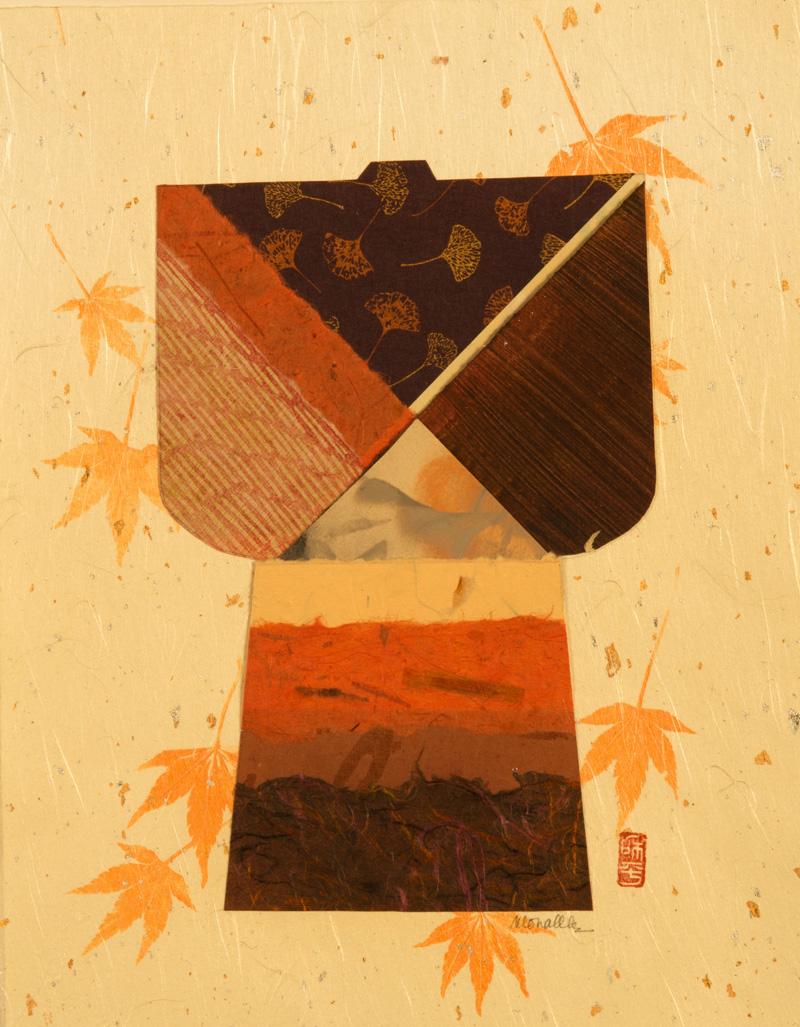 """Kimono II Collage   10x13"""""""