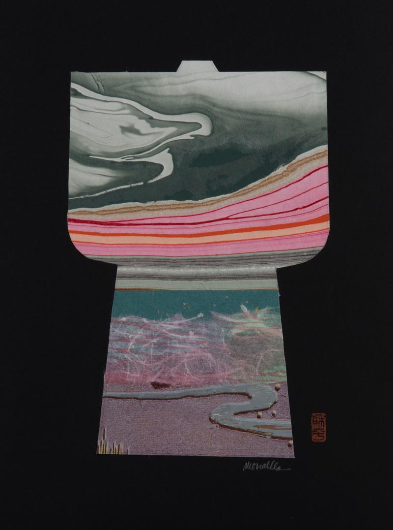 """Kimono IV Collage   10x13"""""""