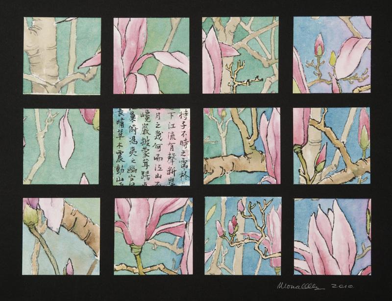 """Magnolia I Collage   x"""""""