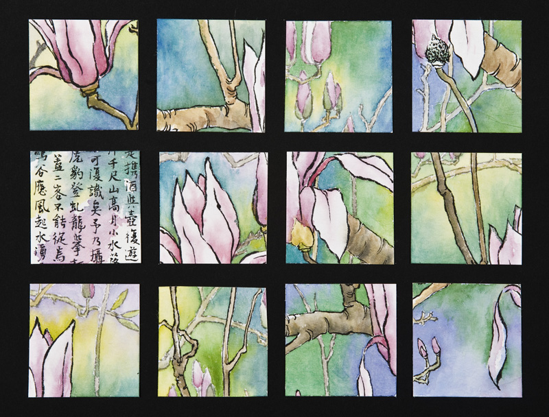 "Magnolia II Collage   x"""