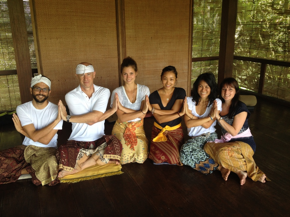 Such special and beautiful souls from all over the world. From left, Scott, David, Bianca, Tiffany, Alicia, and Sarah.