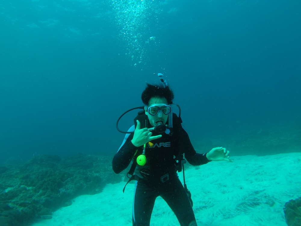 Newly PADI certified and diving like a pro!
