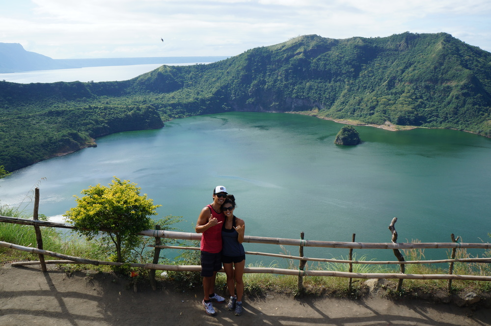 Vulcan Point is the world's largest island within a lake (Main Crater Lake) that is situated on an island (Volcano Island) located in a lake (Lake Taal) within an island (Luzon).